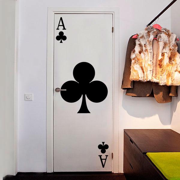 10 ideas de vinilos decorativos para puertas - Vinilos para pared de dormitorio ...