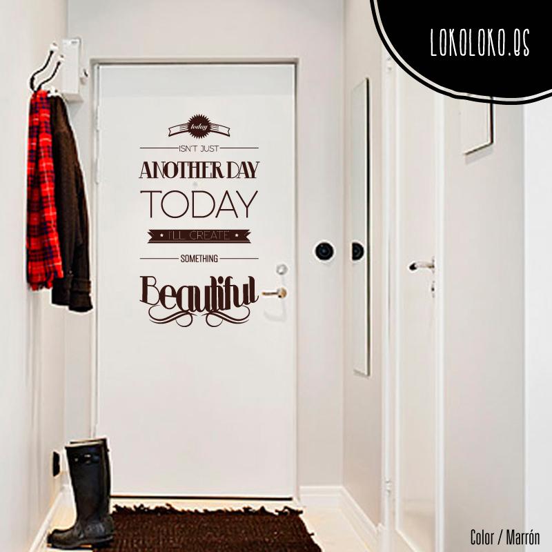 10 ideas de vinilos decorativos para puertas for Puerta en ingles