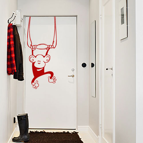 10 ideas de vinilos decorativos para puertas - Arcos decorativos para puertas ...