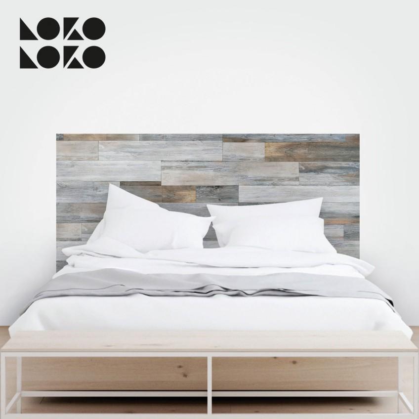 Vinilos de texturas naturales para tus muebles for Vinilos cabecero cama