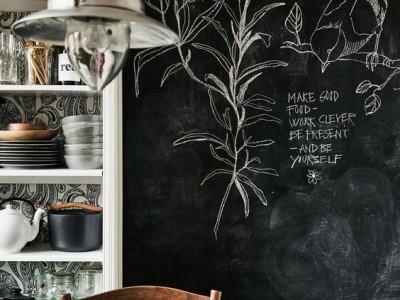 10 razones para decorar con vinilo de pizarra negra