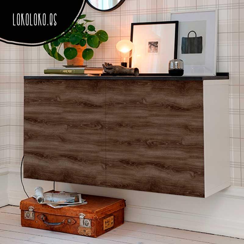 Vinilos de imitaci n de madera para tus muebles blog de for Muebles imitacion diseno