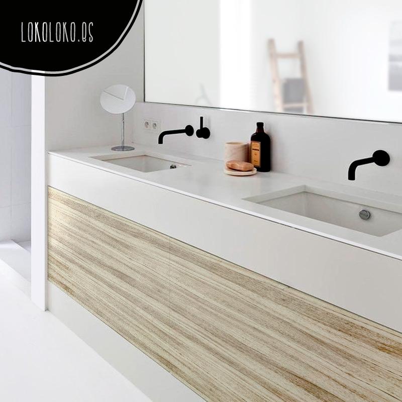 Vinilos de textura de madera para decorar tus muebles - Muebles de bano en jaen ...