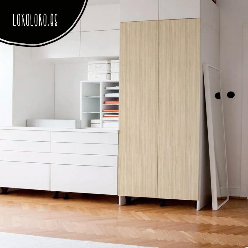Vinilos de textura de madera para decorar tus muebles - Como forrar las puertas de un armario ...