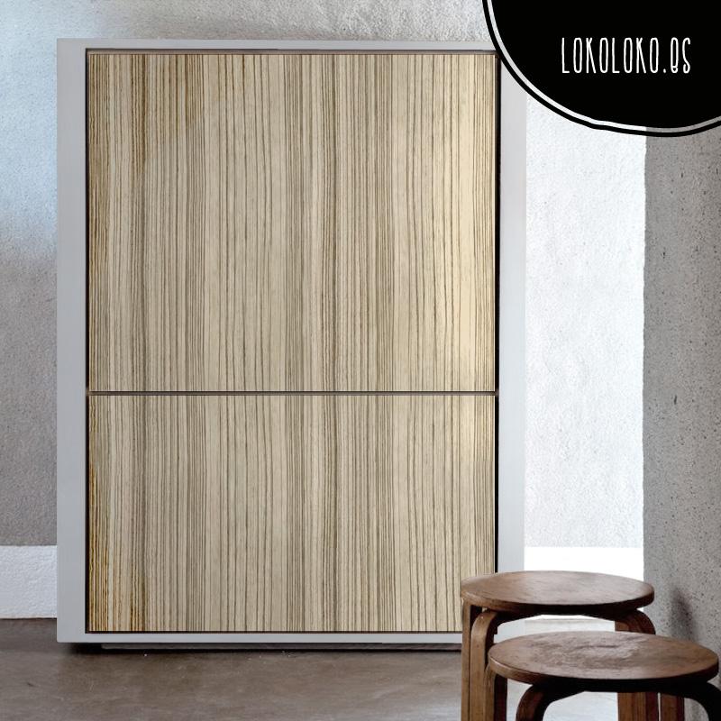 Vinilos de textura de madera para decorar tus muebles for Armarios modernos de madera