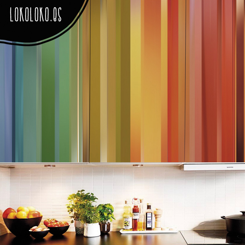 20 ideas para decorar tu cocina con vinilos de impresión