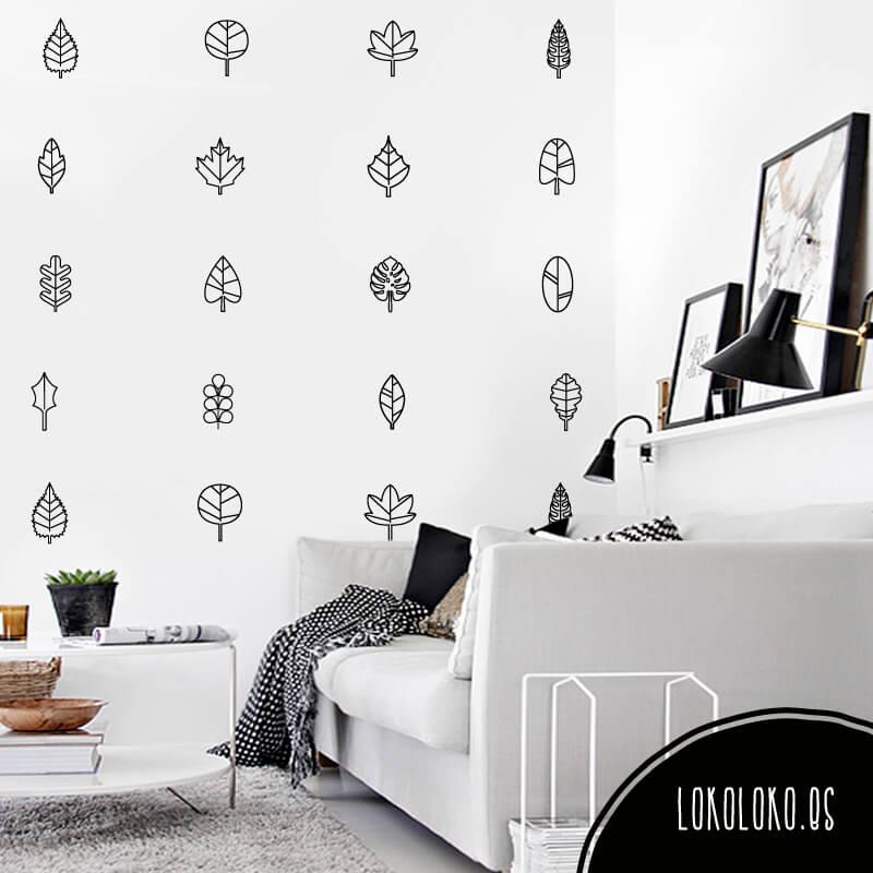 DIY Packs botanical: decoramos con formas de la naturaleza en tus paredes y muebles