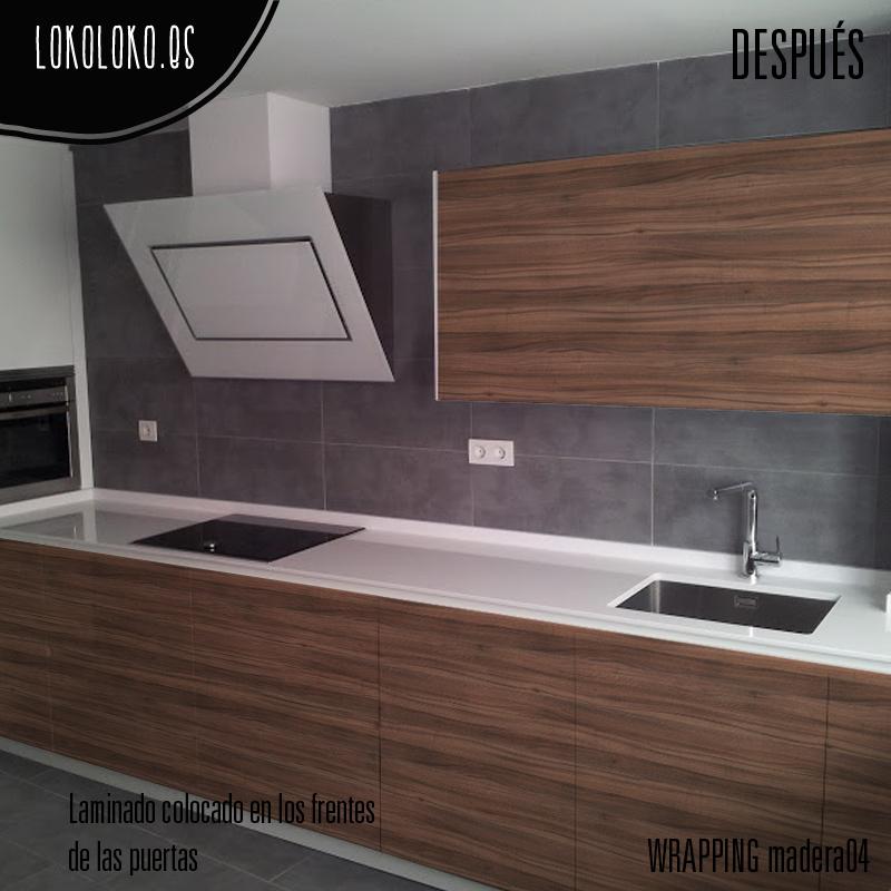 Hermoso como forrar muebles de cocina fotos decoracion de - Como forrar muebles de cocina ...