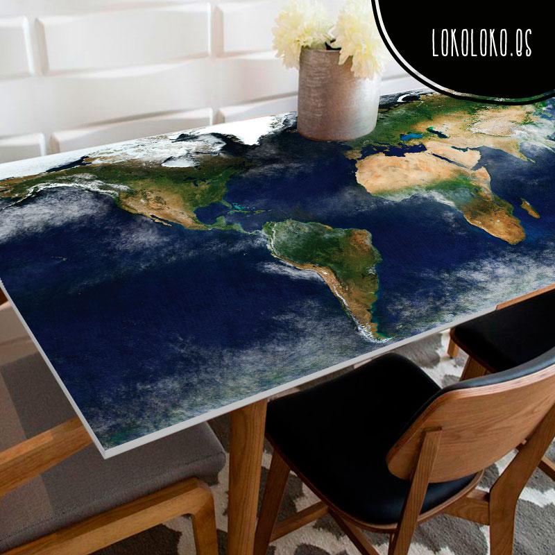 20 ideas para decorar tu cocina con vinilos de impresi n - Vinilos para mesas ...