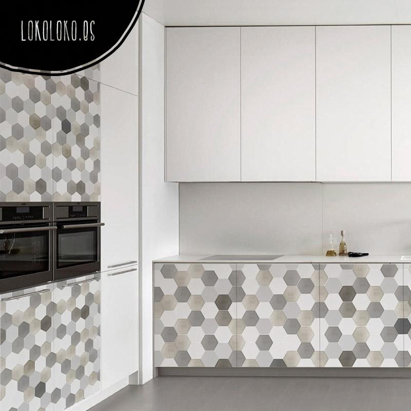 20 ideas para decorar tu cocina con vinilos de impresi n - Vinilo de cocina ...