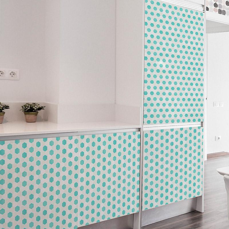 20 ideas para decorar tu cocina con vinilos de impresi n - Vinilos para cocinas modernas ...