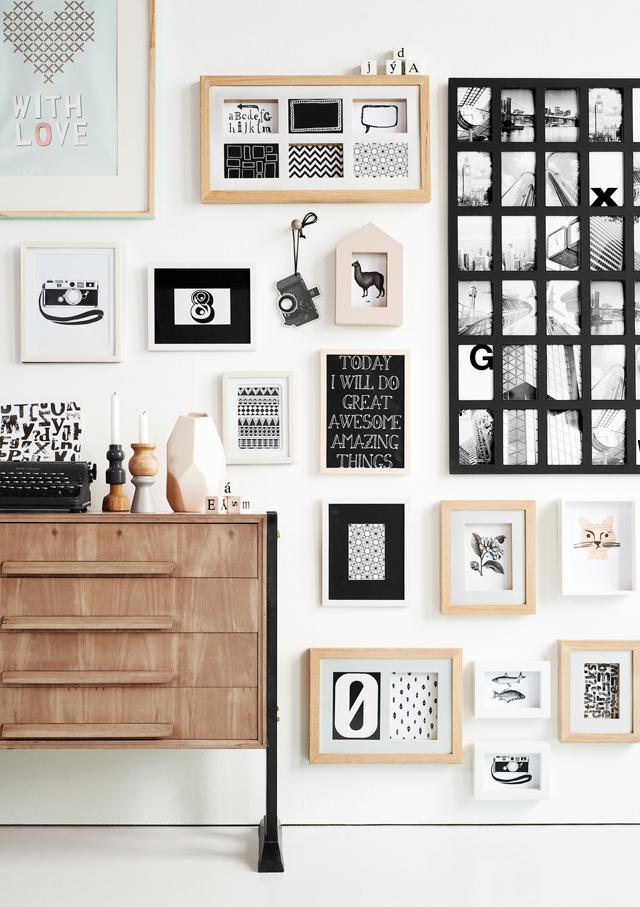 50 ideas de cmo decorar y hacer composiciones con cuadros