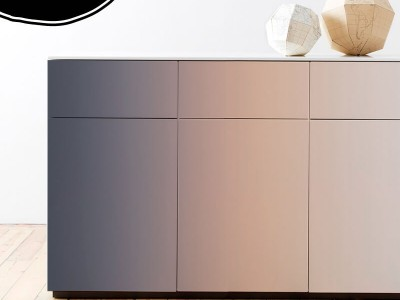 5 ideas para decorar con colores degradados