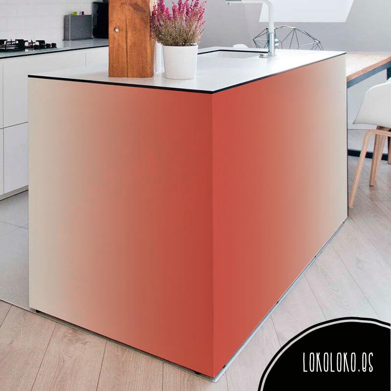 Colour blocks nueva colecci n de vinilos degradados - Vinilos para muebles de madera ...