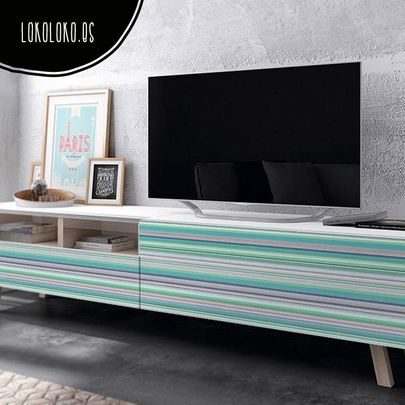 25 ideas para decorar tus muebles con vinilos de diseño.