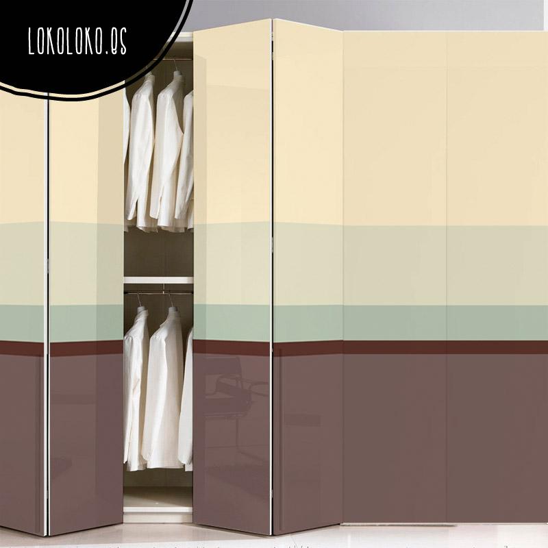Ideas de dise o para forrar puertas de armario con vinilo - Vinilos para puertas de armarios de cocina ...