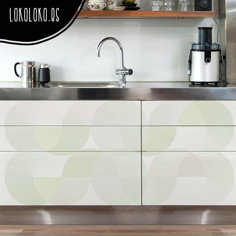 Nuevos vinilos de dise o para la decoraci n de cocinas for Cocinas paralelas