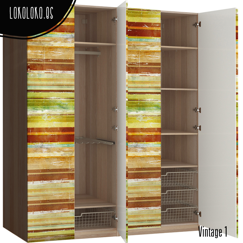 Ideas de dise o para forrar puertas de armario con vinilo for Puertas de madera para dormitorios