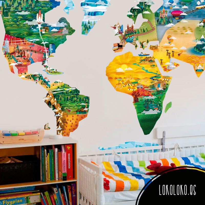 10 dise os de vinilos decorativos multicolor para tu for Diseno de vinilos decorativos