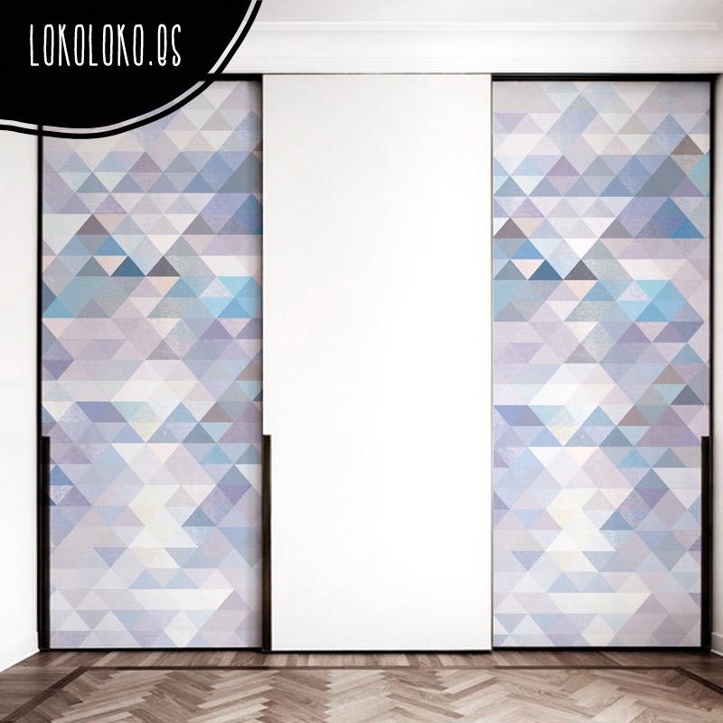 Ideas de dise o para forrar puertas de armario con vinilo - Vinilos para decorar armarios ...