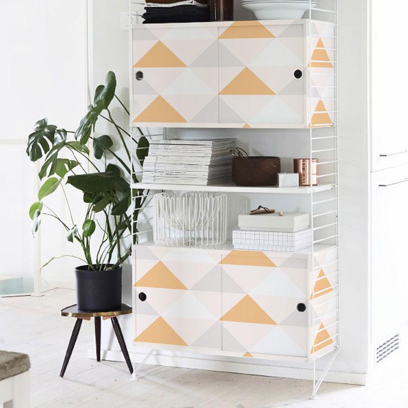 25 ideas para decorar tus muebles con vinilos de dise o - Vinilos para forrar muebles ...