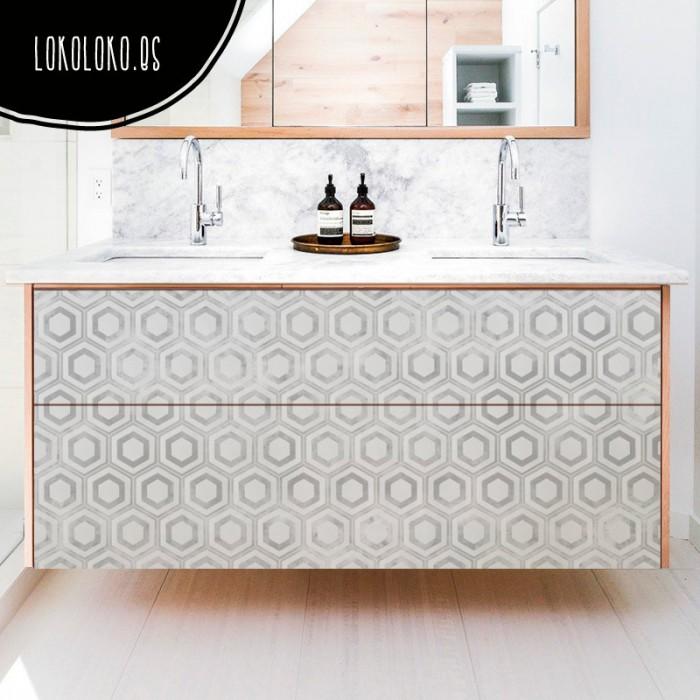 vinilo-muebles-patron-geometrico-vintage