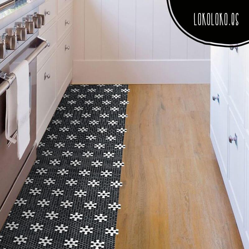 Nuevos vinilos de dise o para la decoraci n de cocinas - Vinilos suelo cocina ...