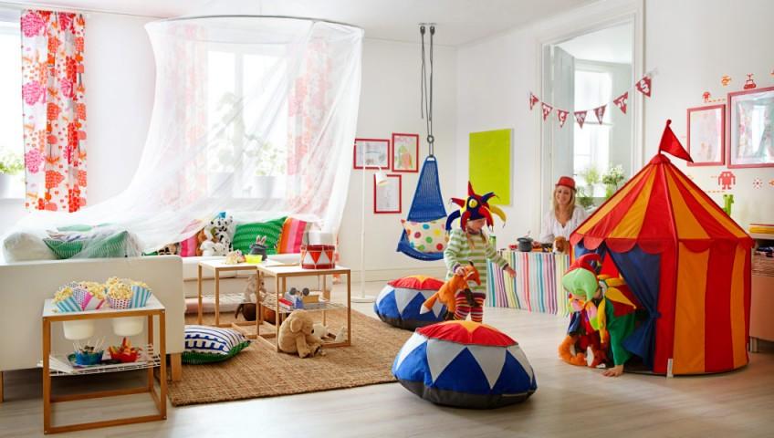 Ideas low cost para decorar dormitorios y cuartos de juegos para nios