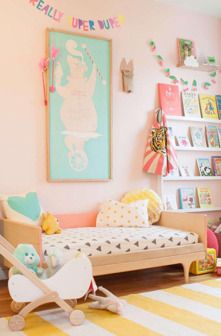 Originales y llamativas ideas decorativas para - Colores para habitaciones infantiles ...