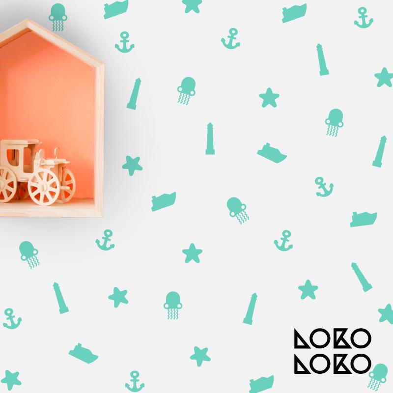 Nuevos DIY Packs de vinilos infantiles para decorar paredes y muebles