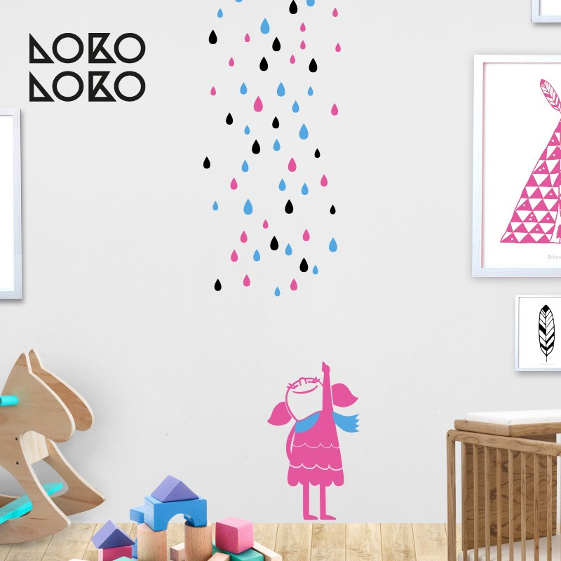 Vinilos Originales Para Habitaciones Infantiles.Originales Y Llamativas Ideas Decorativas Para Habitaciones Infantiles