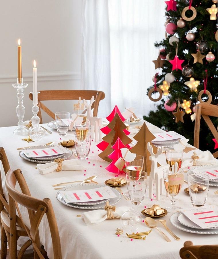 Ideas diy estilo escandinavas para decorar esta navidad la for Decorar mesa navidad para cena
