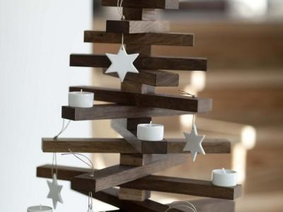 20 ideas DIY para tu árbol de Navidad