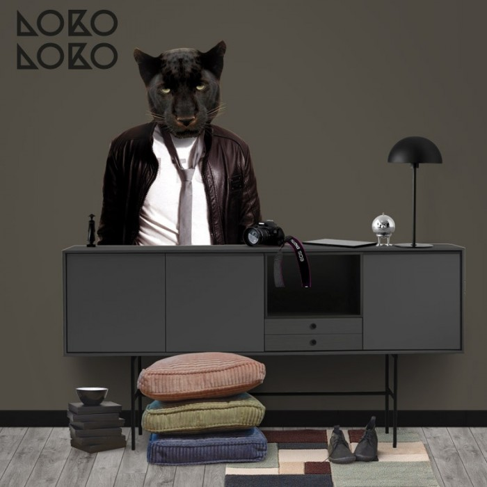 retrato-pantera-negra-moderna-para-pared