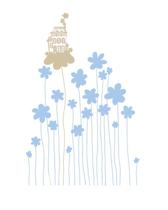 Te damos ideas para decorar con azul pastel las habitaciones de bebés