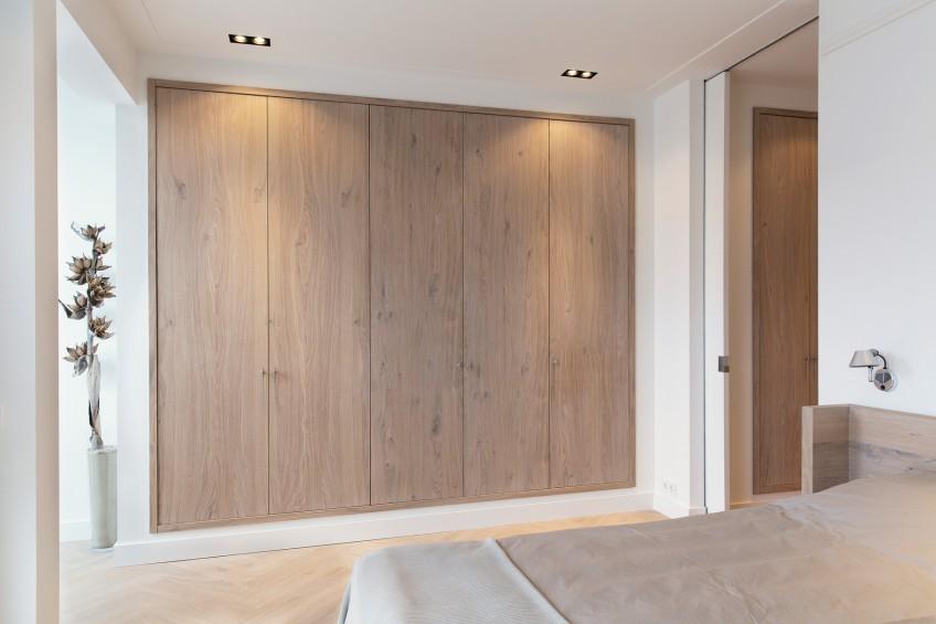 ideas para forrar puertas de armarios empotrados con