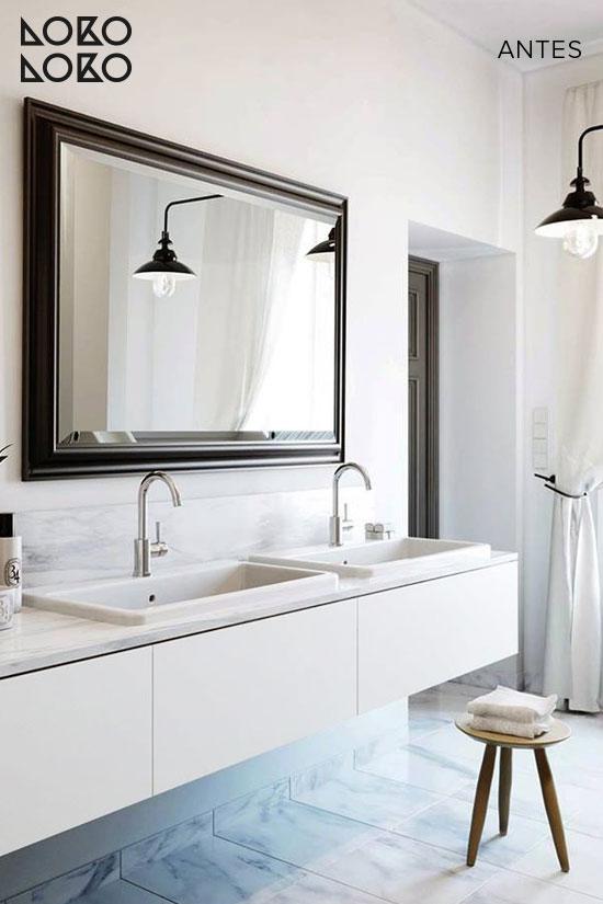 Antes y después: Buenos ejemplos de cómo reformar un baño solo con ...