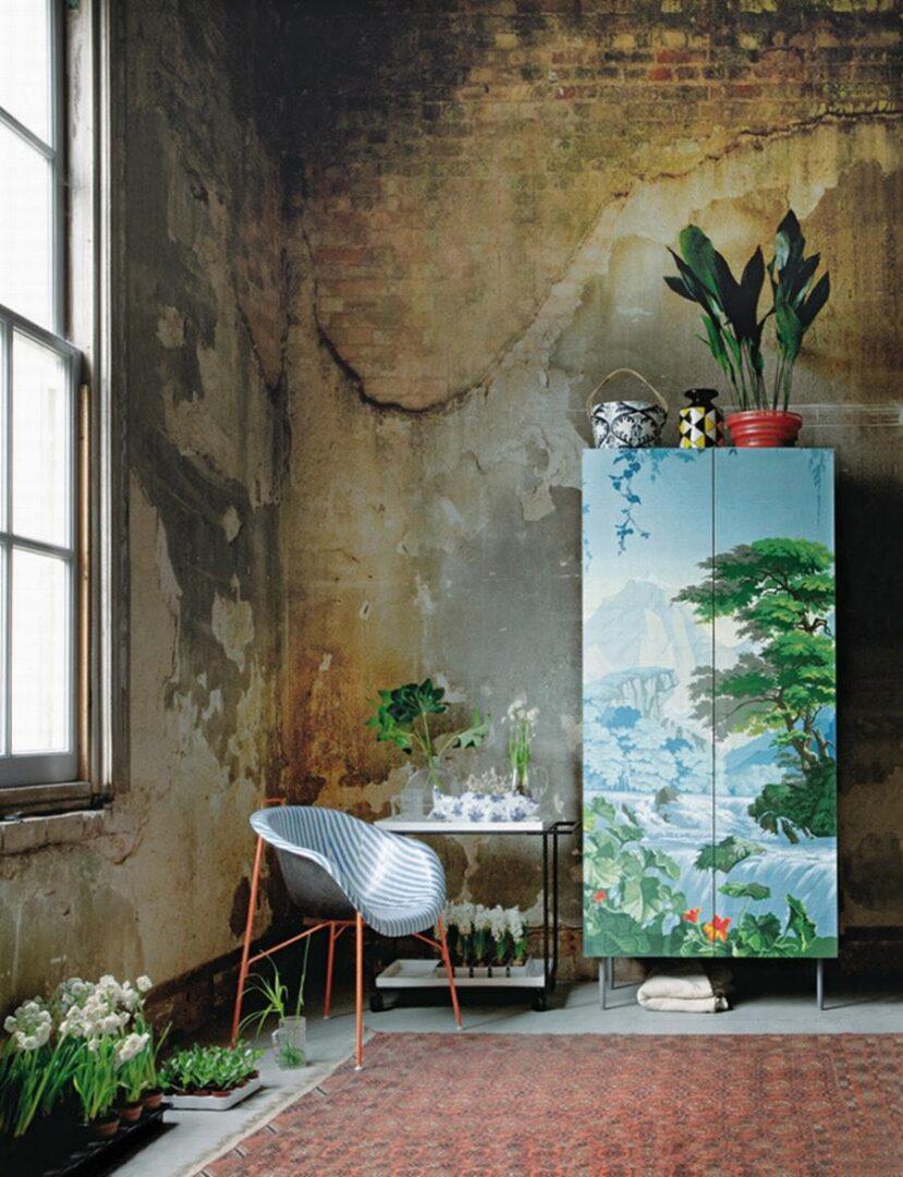 Mira cómo decorar con motivos florales en los estilos shabby y dirty chic