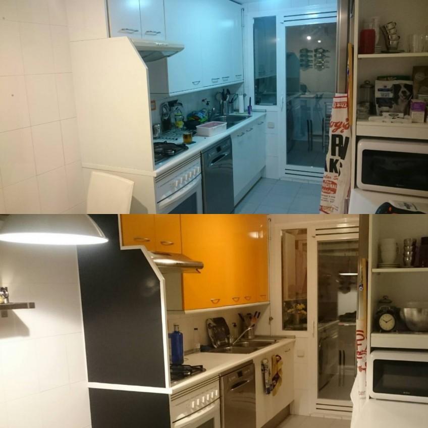 Vuestros cambios y reformas con vinilo para muebles en - Cocinas con vinilo ...