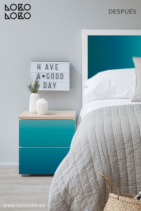 dormitorio-de-apartamento-de-playa-despues-vinilo-degradados-azules-lokoloko