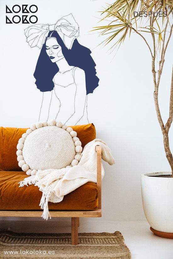 pared-apartamento-de-playa-despues-vinilo-chica-lokoloko-design