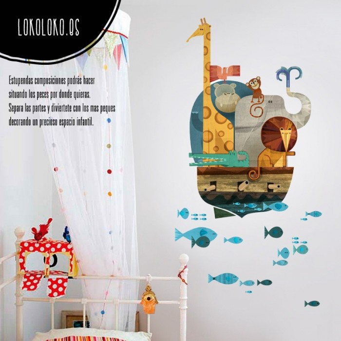 vinilo-decorativo-infantil-animales-peces