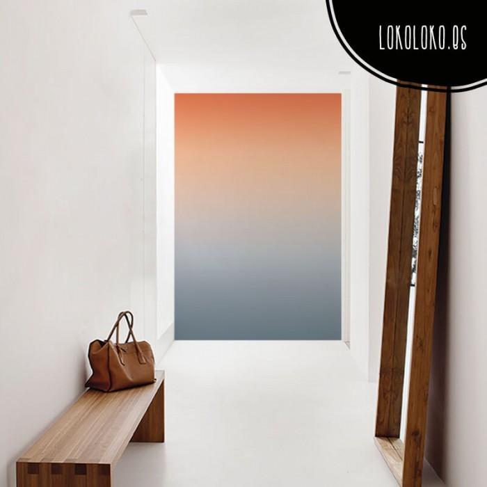 vinilo-degradado-forrar-puertas-azul-grisaceo-anaranjado