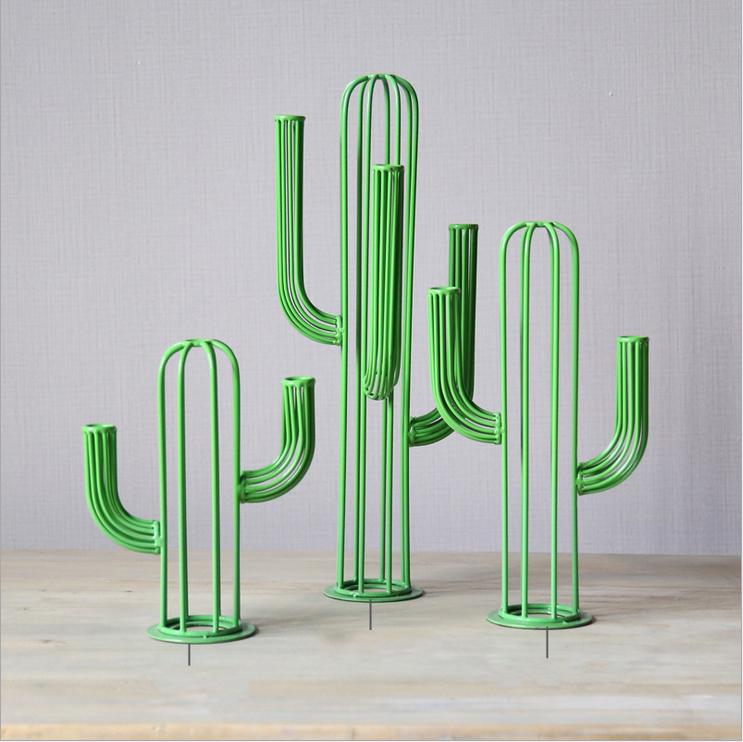 Modern-set-three-creative-iron-ornaments-jewelry-font-b-cactus-b-font-iron-font-b-decor