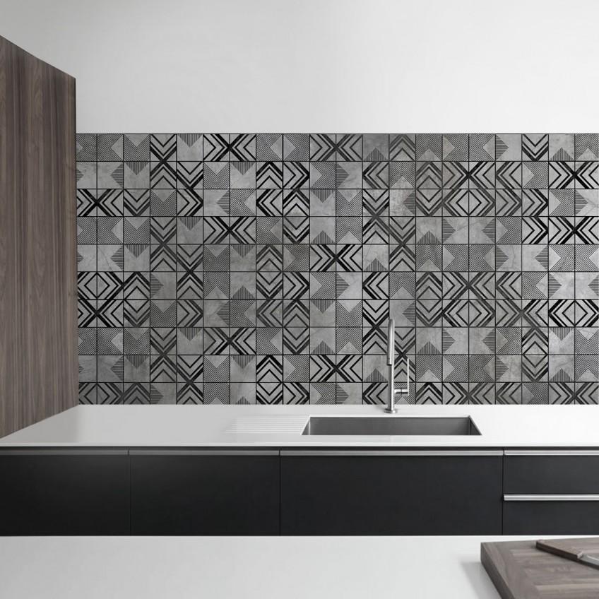 Antes y despu s de azulejos cenefas copetes y frontales for Ver azulejos de cocina