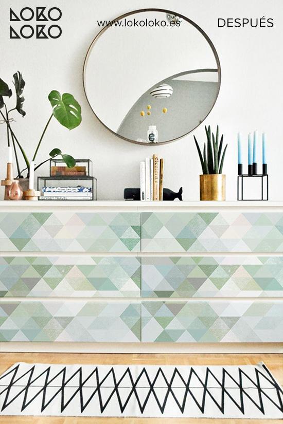 comoda-dormitorio-adulto-verde-despues-vinilo-verde-geometrico-lokoloko
