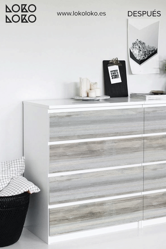 comoda-malm-blanca-decorar-con-vinilo-madera-desgastada-nordico-antes-y-despues-lokoloko