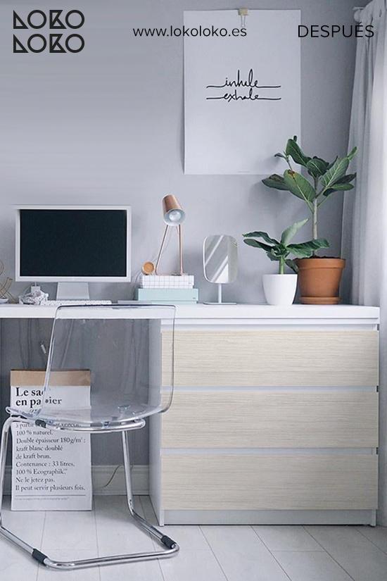 comoda-malm-blanca-despacho-casa-antes-vinilo-madera-estilo-nordico-lokoloko