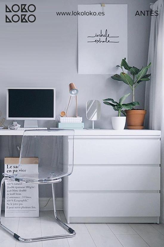 comoda-malm-blanca-despacho-casa-antes-vinilos-lokoloko