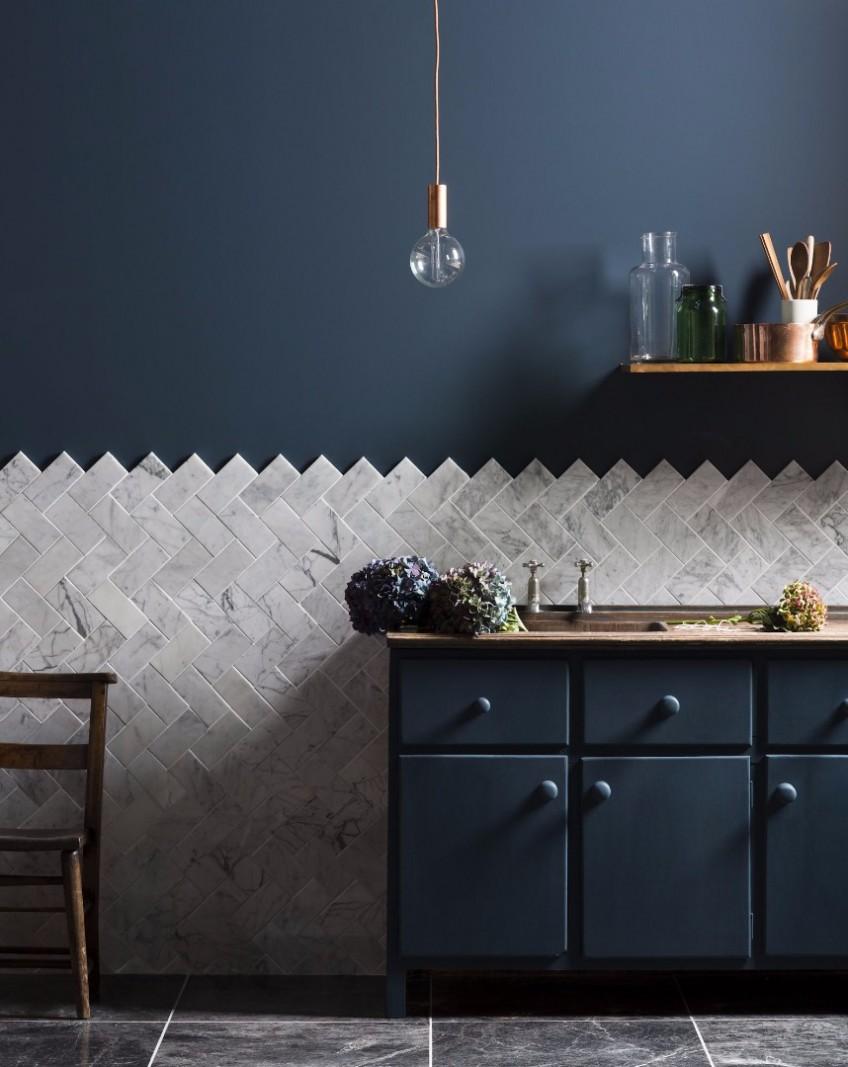 35 ideas con cocinas oscuras. La última tendencia en decoración para ...